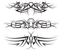 Tatuagens tribais Foto de Stock Royalty Free