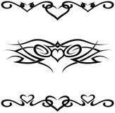Tatuagens tribais Imagem de Stock Royalty Free