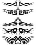 Tatuagens tribais ajustadas Imagem de Stock