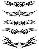 Tatuagens tribais ajustadas Foto de Stock