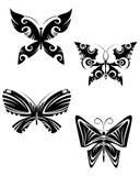 Tatuaggi della farfalla Fotografie Stock Libere da Diritti