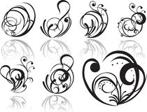 Tatuaggio astratto Fotografie Stock Libere da Diritti