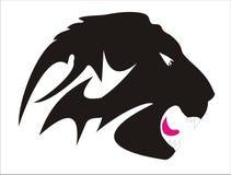 Tatuaggio capo del leone (vettore) Fotografia Stock Libera da Diritti