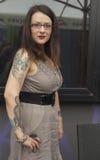 Tatuaggio come modo Immagini Stock Libere da Diritti
