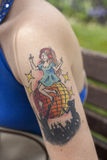 Tatuaggio come modo Fotografie Stock