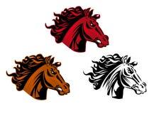 Tatuaggio del cavallo royalty illustrazione gratis