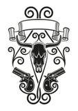 Tatuaggio del Derringer Fotografia Stock