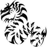 Tatuaggio del drago Fotografia Stock