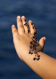 Tatuaggio del hennè Immagine Stock Libera da Diritti