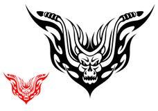Tatuaggio del motociclo royalty illustrazione gratis