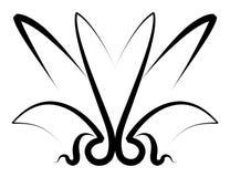 Tatuaggio dell'ornamento di disegno illustrazione vettoriale