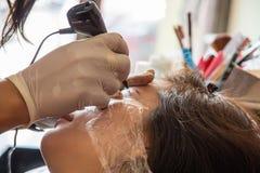 Tatuaggio delle donne Immagine Stock