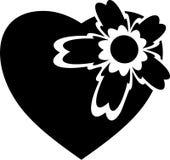 Tatuaggio di amore di disegno Fotografia Stock Libera da Diritti