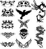 Tatuaggio di Maraming Fotografia Stock