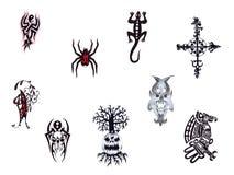 Tatuaggio I. stabilito. Fotografia Stock Libera da Diritti