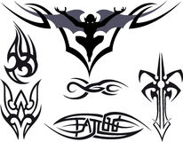 Tatuaggio tribale Fotografie Stock Libere da Diritti