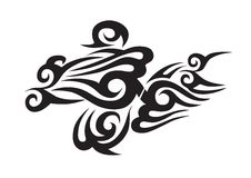 Tatuaggio tribale Fotografia Stock