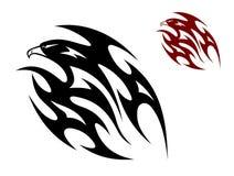 Tatuaggio tribale dell'uccello Fotografia Stock Libera da Diritti