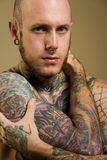 Tatuaje Imagen de archivo libre de regalías