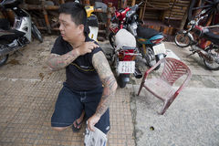 Tatuaje   Imagenes de archivo