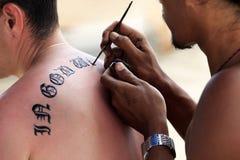 Tatuaje Fotos de archivo libres de regalías