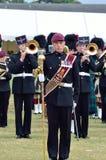 Tatuaje COLCHESTER ESSEX 8 de julio BRITÁNICO militar: Músicos de banda en desfile foto de archivo libre de regalías