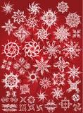 Tatuaje de la escama de la nieve Imagen de archivo libre de regalías