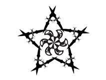 Tatuaje de la estrella Fotografía de archivo libre de regalías