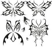 Tatuaje de la mariposa Imagen de archivo