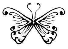 Tatuaje de la mariposa Foto de archivo libre de regalías