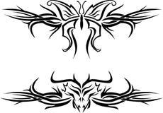 Tatuaje de la mariposa Imagen de archivo libre de regalías