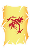 Tatuaje del cartel foto de archivo libre de regalías