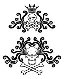 Tatuaje del cráneo Foto de archivo