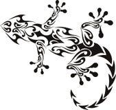 Tatuaje del Gecko Fotografía de archivo libre de regalías