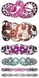 Tatuaje Design Diseño tribal del vector del tatuaje Tatuaje tribal del arte Imagenes de archivo