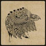 Tatuaje Eagle Head del vector Fotos de archivo