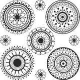 Tatuaje en un círculo Fotografía de archivo