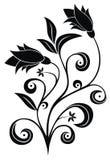 Tatuaje floral Fotos de archivo libres de regalías