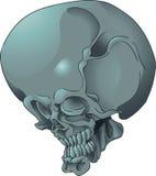 Tatuaje grande del cráneo Fotos de archivo