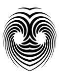 Tatuaje hipnótico Imagenes de archivo
