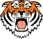 Tatuaje principal del tigre Foto de archivo libre de regalías