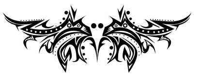 Tatuaje tribal Foto de archivo libre de regalías