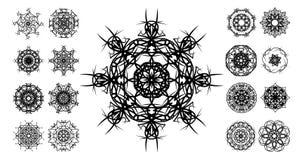 Tatuaje tribal ilustración del vector