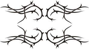 Tatuaje tribal Imagen de archivo libre de regalías
