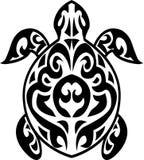 Tatuaje tribal de la tortuga Imágenes de archivo libres de regalías