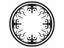 Tatuaje tribal del círculo Fotos de archivo libres de regalías