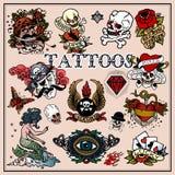 tatuajes stock de ilustración