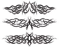 tatuajes fijados Imagen de archivo libre de regalías
