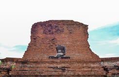Tatue του Βούδα σε Wat Mahatat, Ayutthaya Στοκ Εικόνες