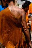 Tatuerad munk Royaltyfria Foton